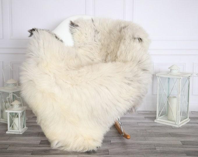 Sheepskin Rug | Real Sheepskin Rug | Shaggy Rug | Sheepskin Throw | Super Large Sheepskin Rug Beige Brown | Home Decor | #HERMAJ86