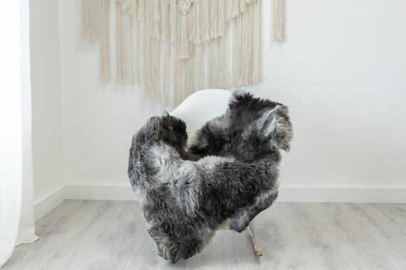 Real Sheepskin Rug Shaggy Rug Chair Cover Scandinavian Home Sheepskin Throw Sheep Skin White Gray Sheepskin Home Decor Rugs #Gut60