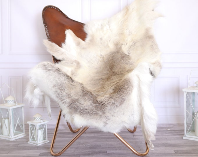 Reindeer Hide | Reindeer Rug | Reindeer Skin | Throw Large  - Scandinavian Style #22RE8
