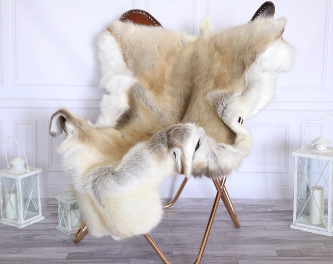 Reindeer Hide | Reindeer Rug | Reindeer Skin | Throw Large  - LARGE Scandinavian Style #22RE18