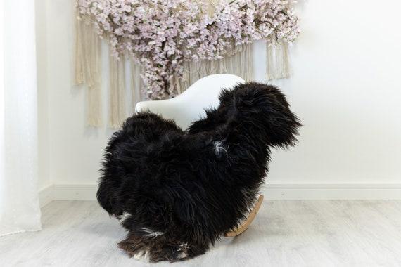 Real Sheepskin Rug Shaggy Rug Chair Cover Scandinavian Home Sheepskin Throw Sheep Skin White Brown Sheepskin Home Decor Rugs #herdwik133