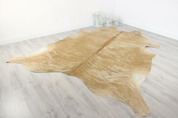 Premium Quality Giant XXXL Cowhide   Real Cowhide Rug   Sand Cowhide   #COW5