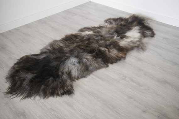 Real Icelandic Double Sheepskin Rug Scandinavian Decor Sofa Sheepskin throw Chair Cover Natural sheep skin rugs blanket fur rug #Islszyt3