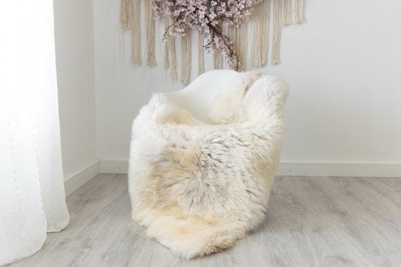 Real Sheepskin Rug Shaggy Rug Chair Cover Scandinavian Home Sheepskin Throw Sheep Skin White Brown Sheepskin Home Decor Rugs #herdwik205
