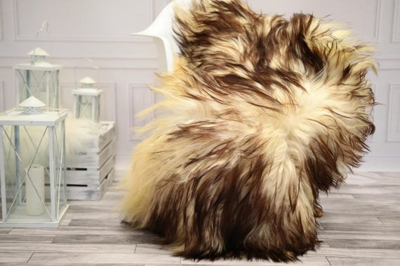 Sheepskin Rug | Real Sheepskin Rug | Shaggy Rug | Chair Cover | Sheepskin Throw | Mouflon Sheepskin | CHRISTMAS DECOR | #DECMOUF5