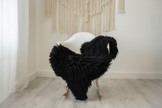 Real Sheepskin Rug Shaggy Rug Chair Cover Scandinavian Home Sheepskin Throw Sheep Skin Ivory Sheepskin Home Decor Rugs #herdwik326