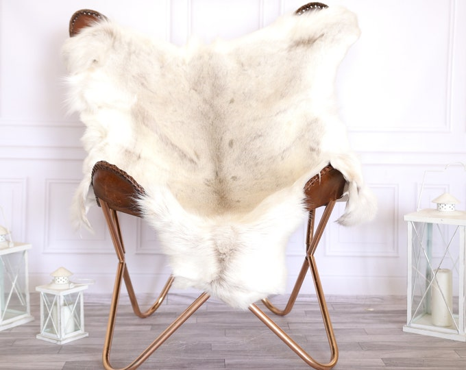 Reindeer Hide | Reindeer Rug | Reindeer Skin | Throw Large  - Scandinavian Style #22RE10