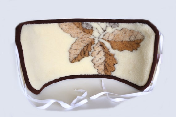 Natural Merino wool Kidney Warmer | Medical Merino Belt | Sciatica Belt - Lower Back Pain