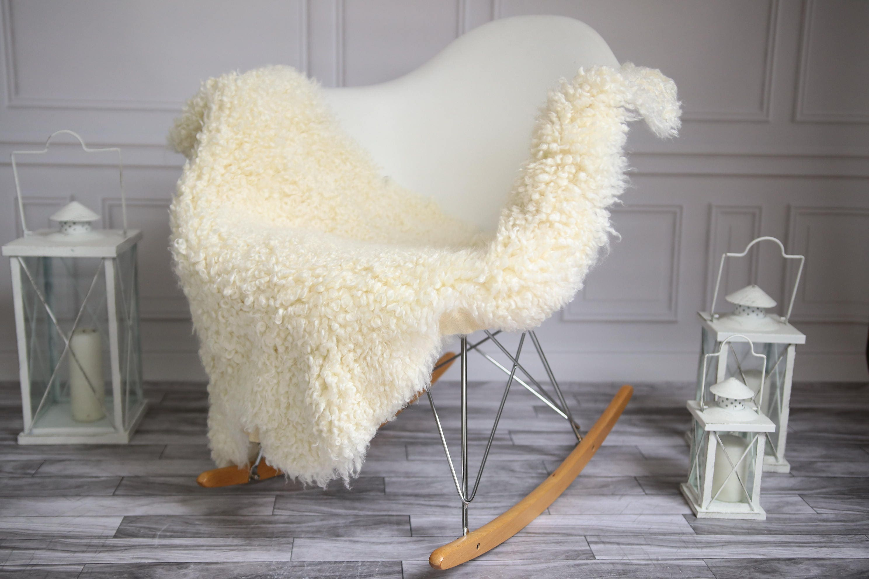 On Sale Gotland Sheepskin Rug Curly Fur Rug Curly
