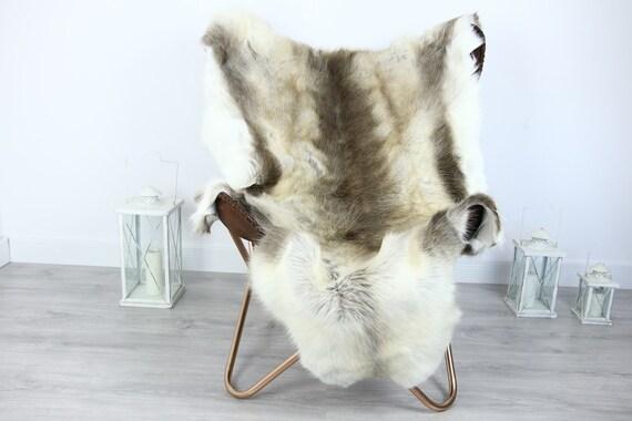 Reindeer Hide | Reindeer Rug | Reindeer Skin | Throw XXL EXTRA LARGE - Scandinavian Style #HRE24