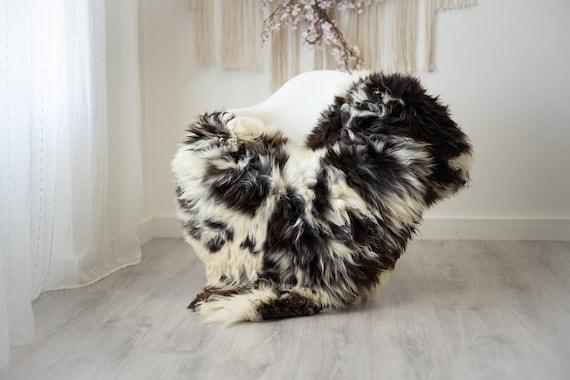 Real Sheepskin Rug Shaggy Rug Chair Cover Scandinavian Home Sheepskin Throw Sheep Skin White Brown Sheepskin Home Decor Rugs #herdwik256