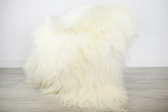 ON SALE Creamy White Sheepskin Rug | Nursery Decor | Nursery | White Sheepskin | Sheepsin Rug |Real Sheepskin | Icelandic Sheepskin rug |