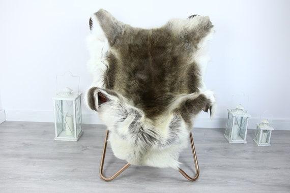 Reindeer Hide | Reindeer Rug | Reindeer Skin | Throw XXL EXTRA LARGE - Scandinavian Style #HRE23