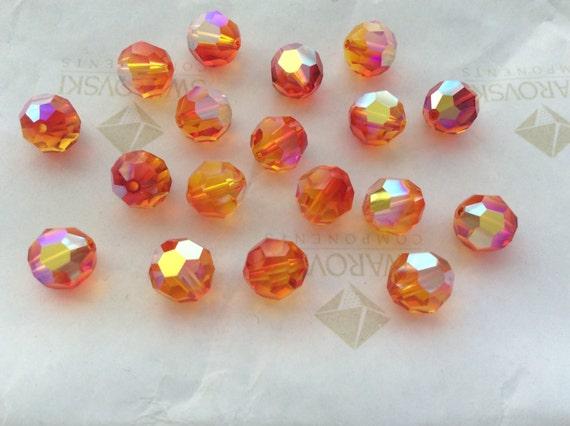 JET SWAROVSKI® Crystal Teardrop Pendants ART#6000 15x7.5mm Faceted 16 Pcs
