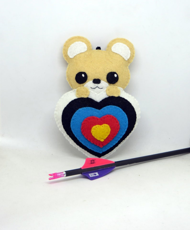 Bear archery archery plush kawaii plush archery decor image 0