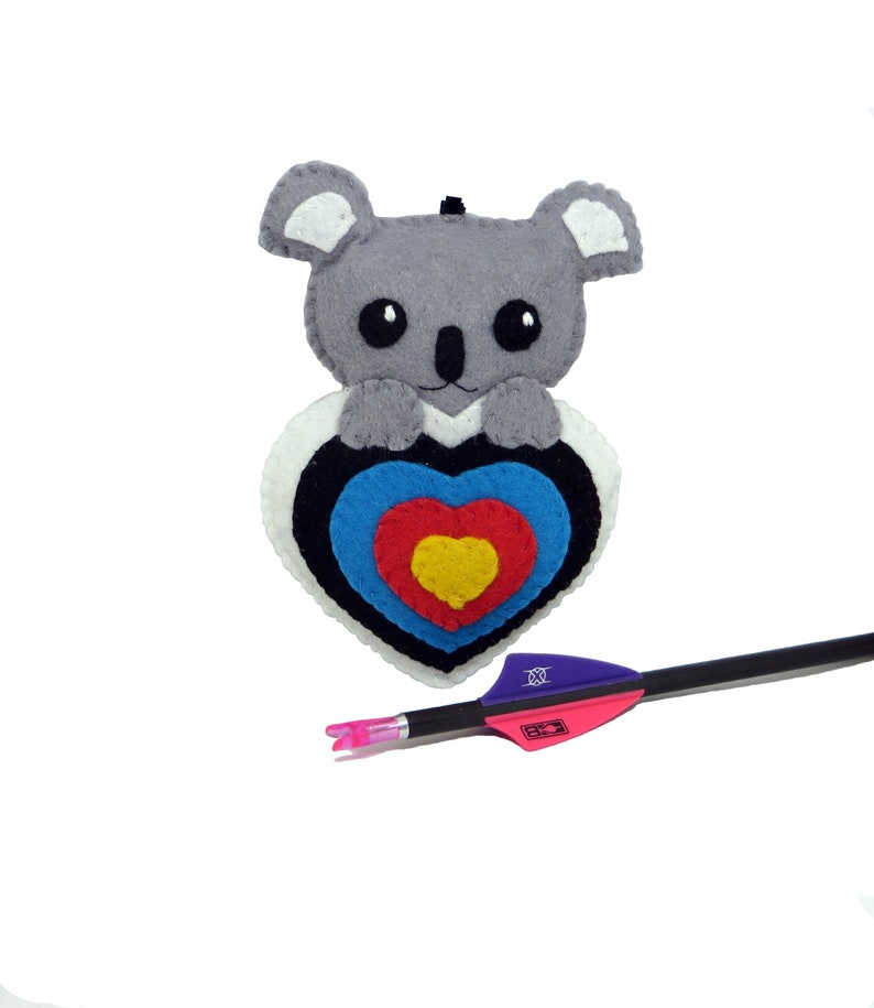 Quiver ornament archery lover gift cute koala bear in an image 0