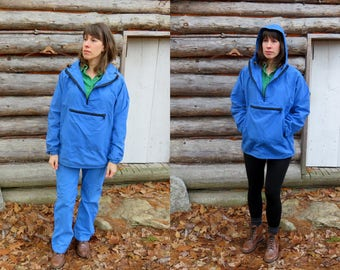 American Made LL Bean vintage hooded anorak parka and windsuit  Baxter  State Parka  Women s size Med. See Details. 674149e0d6