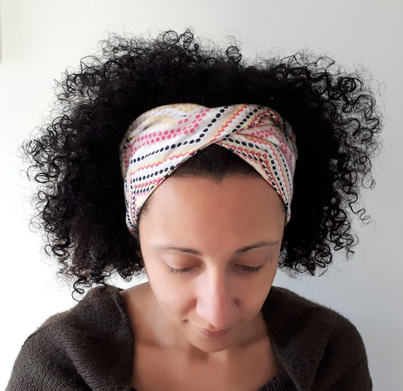 Funky Spot Twist Style Yoga Headbands  a8a37f2aaa9