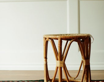Awesome Rattan Stool / Foot stool / Side Table