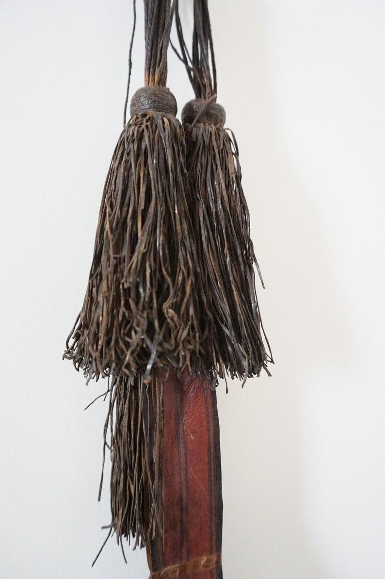 Tuareg Craftsmanship Tuareg leather utensil