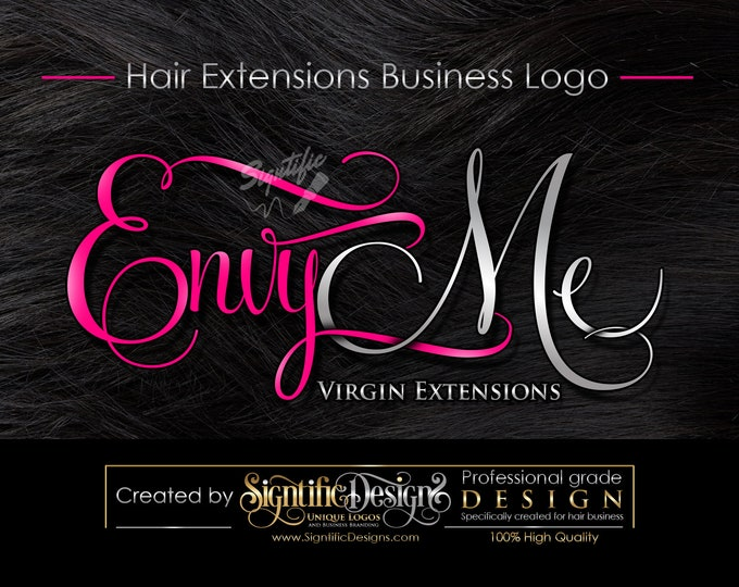 Hair extensions logo, Hair Business Brand, Hair Logo, Hair Bundle Logo, Logo for Hair, Logo Design, Hair Tag Logo, Packaging Logo, Branding