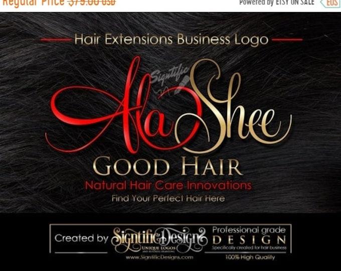 Hair Extensions Logo, Hair Business Logo, Hair Tag Logo, Hang Tag Logo Design, Logo on Hair Texture, Hair Bundle Logo, Hair Tag Logo Design
