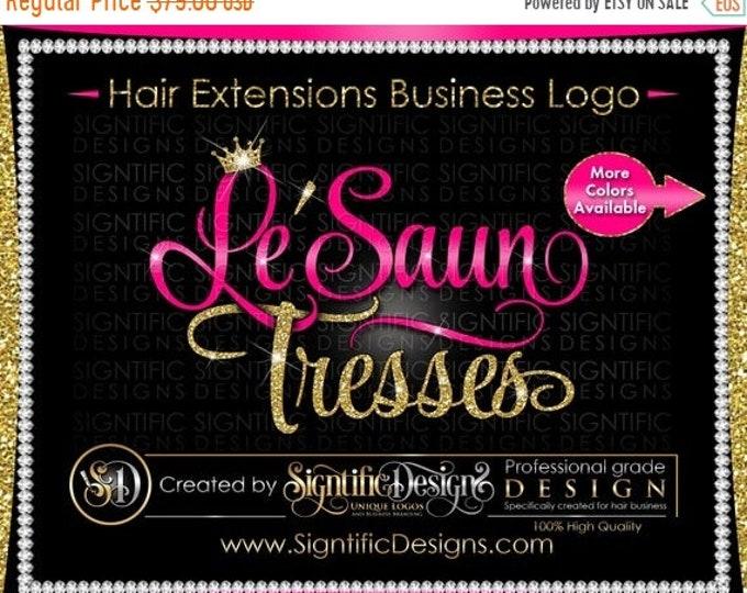 Hair Extension Logo, Hair Business Logo, Hair Tresses Logo, Virgin Hair Logo, Logo Update, Logo Revamp, Logo Design, Hair Bundle Logo