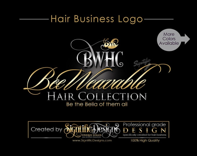 Hair Extension logo, Logo Design, Custom Logo Design, Logo Design Custom, Custom logo, Business Logo, Hair Business Logo, logo designer