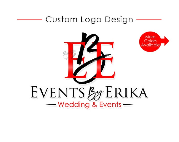 Logo Design, Wedding & Events Business Logo, Custom Logo Design, Logo, Logos, Custom logo, Business Logo, Creative logo, Logo Design Service