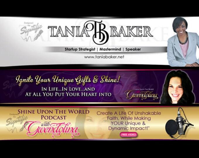 Web Banner Design, Website header, Custom Web Slider, Professional Banner, Custom Ad, Website Ad, Social Media Cover, Business Ad Design