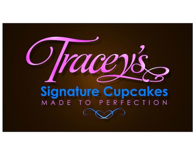 Logo Design Custom, Logo, Logo Design, Custom Logo Design, Bakery logo, Custom logo, Business Logo, Cake Logo, Cupcake Logo, Company Logo
