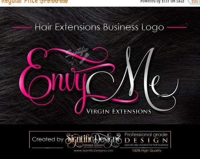Hair extensions logo, Hair Business Brand, Hair Logo, Hair Bundle Logo, Logo for Hair, Logo Design, Hair Tag Logo, Packaging Logo, Branding