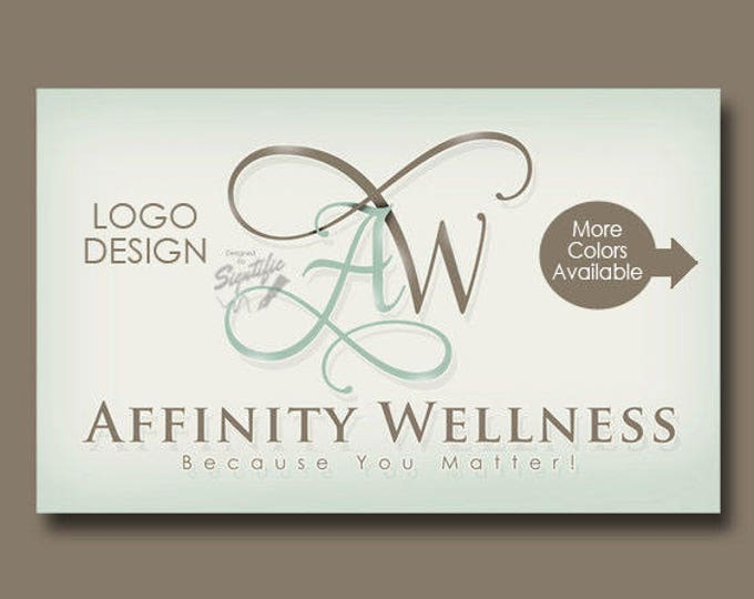 Custom Monogram Logo, Name Logo and Initials in Any Colors, Business Logo Design, Intertwined Lettering Text Logo in Preferred Colors