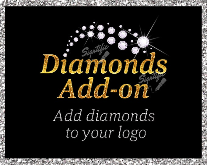 Diamonds add on, Add Diamonds to Your Logo