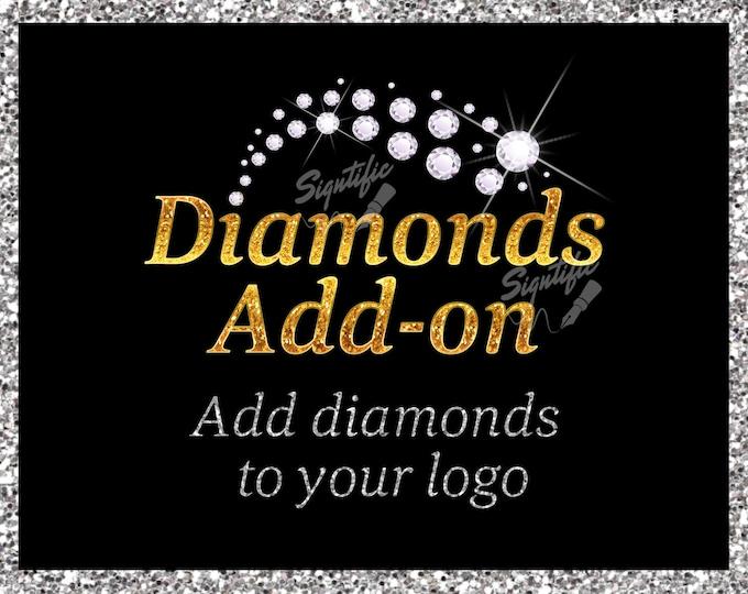 Diamonds add on, Add Diamonds to Your Logo