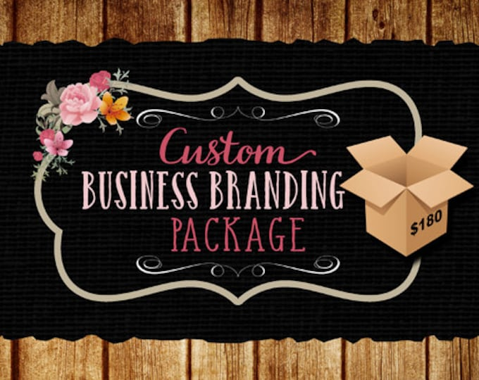 Business Branding Package, Business Starter, Logo, Web Banner, Watermark, a Matching Social Media Banner, Business Logo Package Design