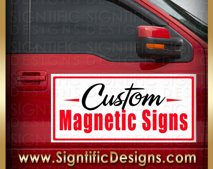 Custom Magnetic Signs, Car Magnets, Vehicle Signs, Car Door Magnets, Truck Magnets, Car Advertisement, Car Signs, Door Signs, Magnet Signage
