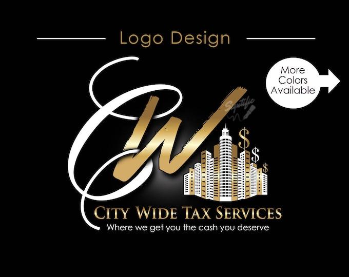 Custom Logo Design, Logo Design, Logo, Logos, Custom logo, Business Logo, Creative logo, Logo Design Service, Tax Logo, Online Shop Logo, .