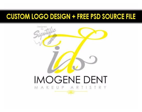Initials Logo, Makeup Artistry Logo, Monogram Logo, Logo Custom, Custom Logo, Makeup Artist Logo, Logo, Logos, Business Logo, Logo Designer