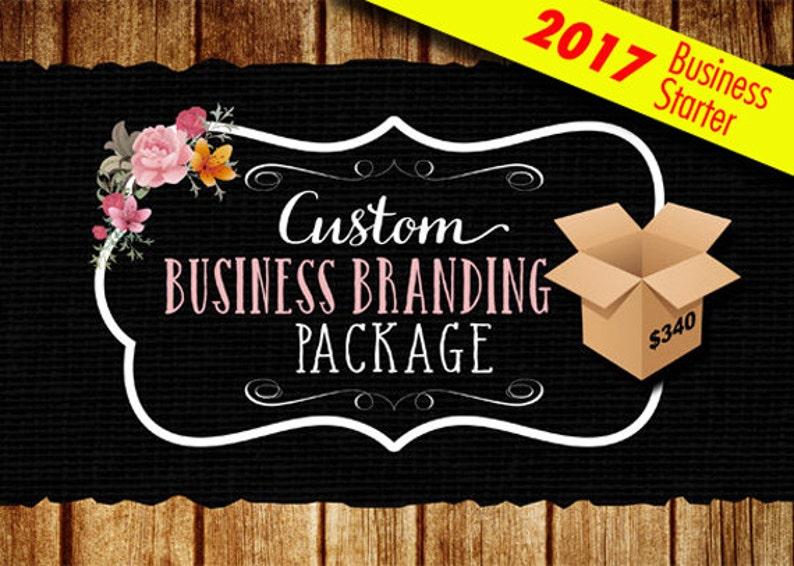 Custom Business Branding Package Business Startup Logo image 0