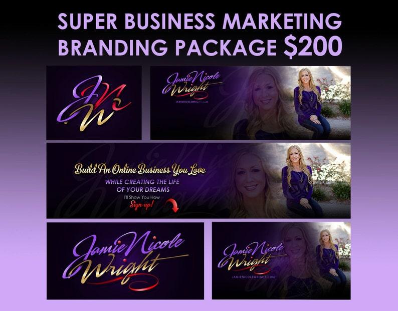 Business start-up promotion design package business branding image 0