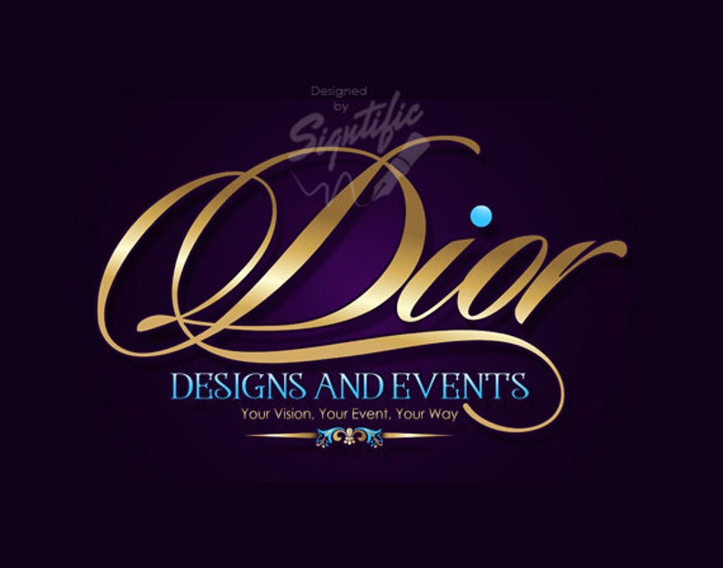 Event Planning Logo Logo Design Custom Logo Design Logo image 0