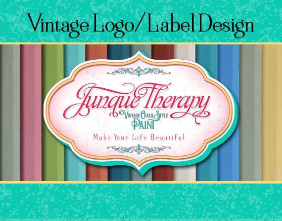 Vintage Product Label, Logo Design,  Business Sign Logo, Distressed Logo, Retro Logo, Stamp Logo Design, Wall Logo, T-shirt Logo, Chalk Logo