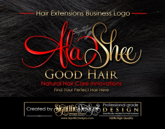 Hair Extensions Logo, Hair Business Logo, Hair Tag Logo, Hang Tag Logo Design, Logo on Hair Texture, Hair Bundle Logo, Hair Tag Logo Design