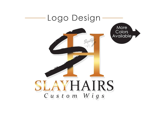Initials Logo Design, Custom Logo Design, Logo, Logos, Custom logo, Business Logo, Creative logo, Logo Design Service, Wigs Logo Design
