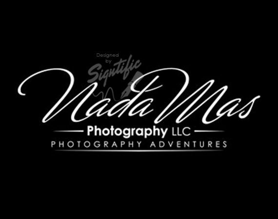 Custom photography logo, black and white logo, photography watermark, photographer logo, signature text logo, business logo design