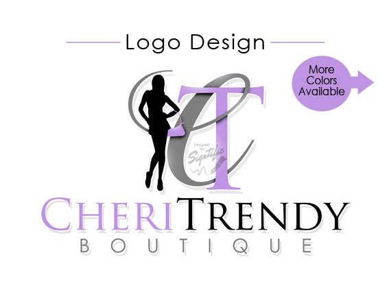 Custom Logo, Boutique Logo Design, Woman Silhouette Logo, Small Business Logo, Couture Logo, Fashion Logo, Re-branding Logo, Clothing Logo