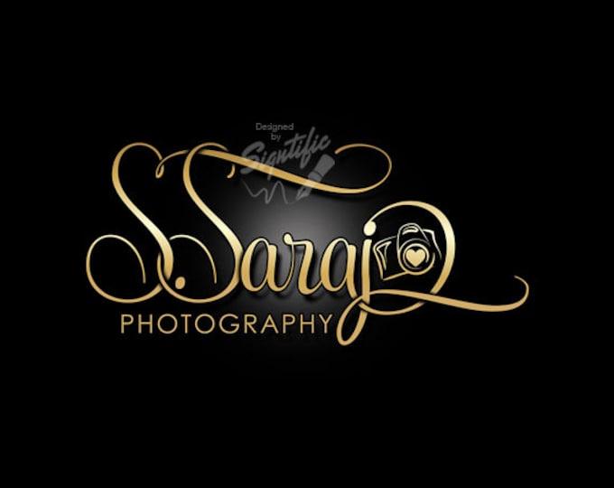 Photography Logo, Camera Logo, Photography Watermark, Logo for Photographer, Business Logo, Photo Watermark, Customized Logo, Logo Design