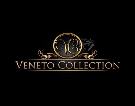 Logo Design, Decorative Logo, Frame Logo, Initials Logo, Gold lettering Logo, Customized Logo, Business Logo, Shiny Gold Logo, Ooak Design