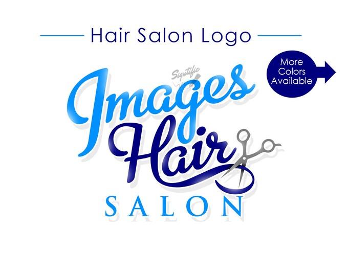 Hair Salon Logo, Custom Logo, Logo Design, Logos, Logo Custom, Scissors Logo, Shears Logo, Hair Stylist Logo, Beauty Salon Logo, Design Logo